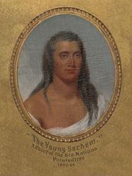 """The Young Sachem,"" A Chief of the Six Nations"