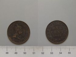 1 Cent of Edward VII, King of Great Britain from London
