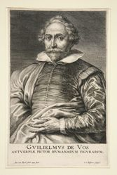 Portrait of William de Vos
