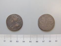 1 Shilling of Anne, Queen of Great Britain from London