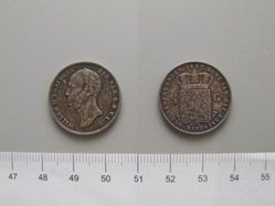 1/2 Gulden of William II of the Netherlands