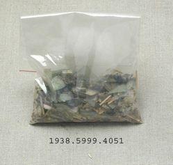 Bag of glass shards