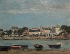 The Port of Trouville