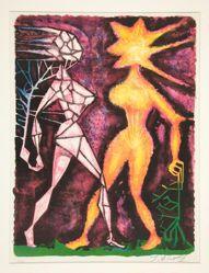 Personnages surréalistes (Surrealist Figures)