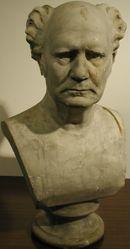 Bust of Walter Hilliard Bidwell, BA 1927