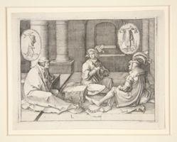 Joseph interpreting the Dreams in Prison (Gen. 40:5-19)
