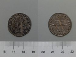 Silver Groat of Philip and Mary