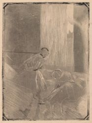 Deux danseuses (Two Dancers in a Rehearsal Room)