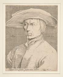 Self-portrait of the Artist, 1525 (Portrait of a man, so-called Lucas van Leyden, self-portrait)