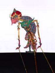 Shadow Puppet (Wayang Kulit) of Supabra or Dresanala