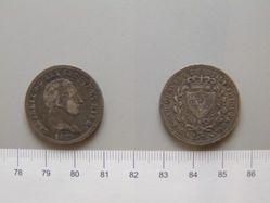 2 Lira Coin of Carlo Felice di Savoia