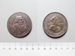 Silver Medal of Martin Luther and Jan Hus