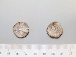 Billon denier of Hugh I from Cyprus