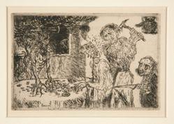 L'avarice (Greed), from the portfolio Les sept péchés capitaux (The Seven Deadly Sins)