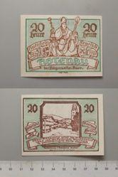 20 Heller from Abtenau, issued 30 May 1920, redeemable 31 Dec. 1920, Notgeld