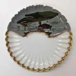 Six Plates from a  Fish Set, Rutherford B. Hayes Presidential Dinner Service