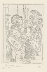 Suite of Six Etchings for Aristophanes' Lysistrata