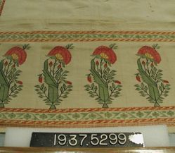 Sash with a Rose Border
