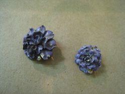 Pair of convertible dress pins