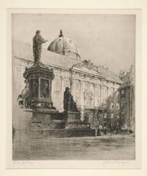 """Emperor's Palace, Vienna (""""Wien, Hofburg"""")"""