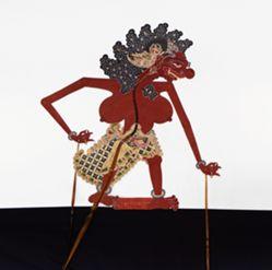 Shadow Puppet (Wayang Kulit) of Raseksi Hutan or Wewe Gitra, from the consecrated set Kyai Nugroho