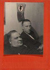 Three Heads (Joseph Stella and Marcel Duchamp)