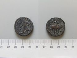 Coin of Vima Kadphises II from India