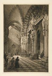 Portico del Gloria, Santiago de Compostela