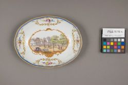 Pair of Oval Dishes from the 'Hollandische Service'