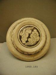 Cizhou ware jar cover