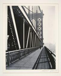 Manhattan Bridge, Lower East Side, New York