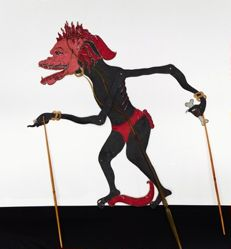Shadow Puppet (Wayang Kulit) of Kera or Kethek