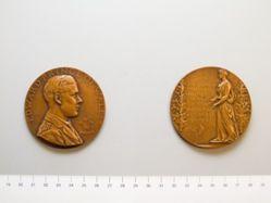 Medal of Prince Edward's U.S. Visit