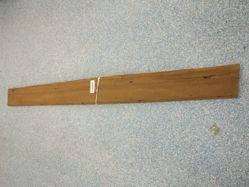 Board with beaded edge