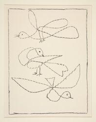 Trois oiseaux (Three birds)