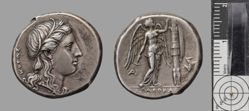 Tetradrachm of Agathocles from Syracuse