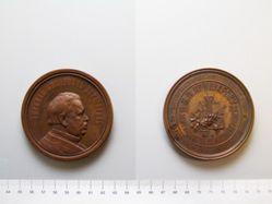 Bronze Medal of Nikolai Ivanovich Lobachevsky