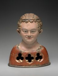 Reliquary Bust of  Young Martyr
