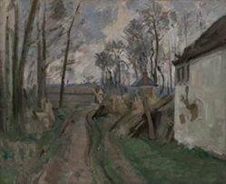 A Village Road near Auvers