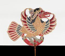 Shadow Puppet (Wayang Kulit) of Garuda, from the consecrated set Kyai Nugroho