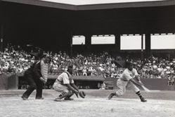 Baseball Game, Randall's Island, New York
