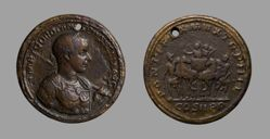 Medallion of Gordian III, Emperor of Rome, from Rome