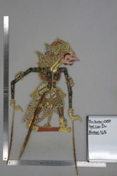 Shadow Puppet (Wayang Kulit) of Wisobrojo, from the set Kyai Drajat