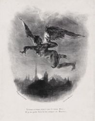 Méphistophélès dans les airs (Mephistopheles in the Skies), from Johann Wolfgang von Goethe's Faust