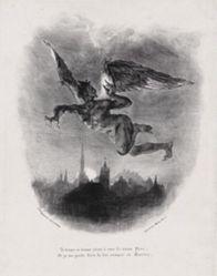 Méphistophélès dans les airs (Mephistopheles in the Skies), from Johann Wolfgang von Goethe's Faust
