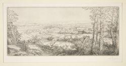 Une vallee en Bourgogne (Valley in Bourgogne)