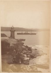 Entrance to Sydney Harbour, from the album [Sydney, Australia]