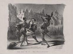 Duel de Faust et de Valentin (The Duel between Faust and Valentine), from Johann Wolfgang von Goethe's Faust