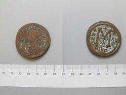Follis (40 Nummi) of Justinian I, Emperor of Byzantium from Nicomedia