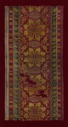 Textile Fragment with Lotuses